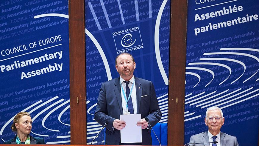 Rik Daems elected PACE President - Newsroom