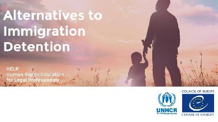 Alternatives to immigration detention: Council of Europe and UNHCR launch new course