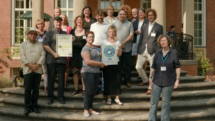 German youth centre awarded with Council of Europe Quality Label