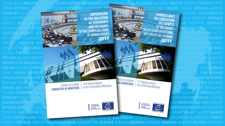 Implementing ECHR judgments: Record number of cases closed in 2017, but challenges remain