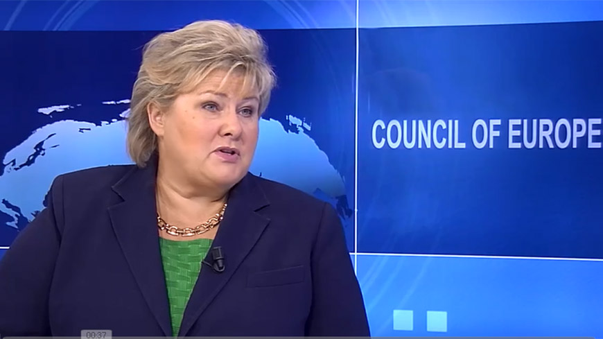 Interview with Erna Solberg, Prime Minister of Norway