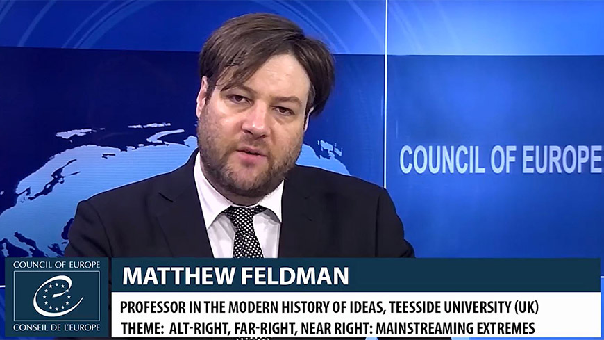 Matthew Feldman on the Alt-Right threat