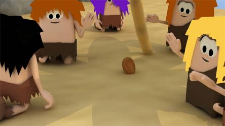 Local democracy: cartoon video with cavemen