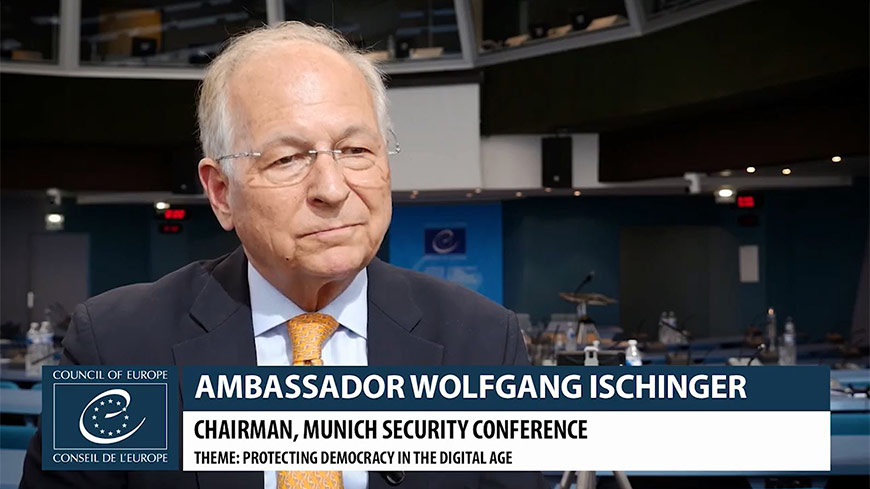 Wolfgang Ischinger Interview