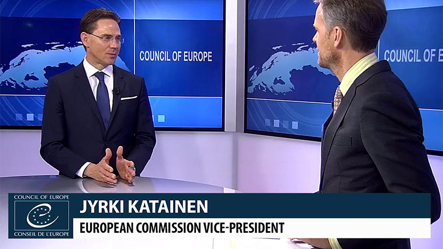 Interview with Jyrki Katainen