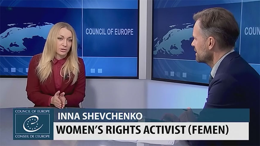Sexual harrassment of women: Inna Shevchenko interview