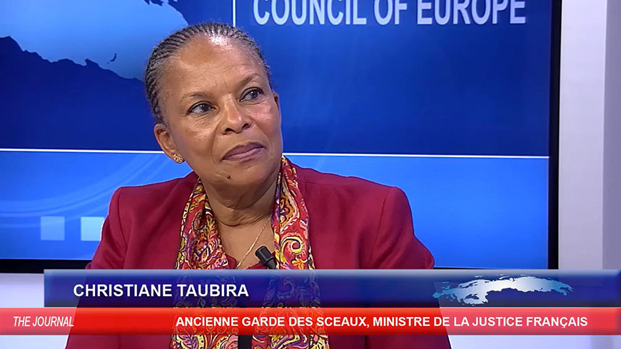 Christiane Taubira on the challenges facing Europe