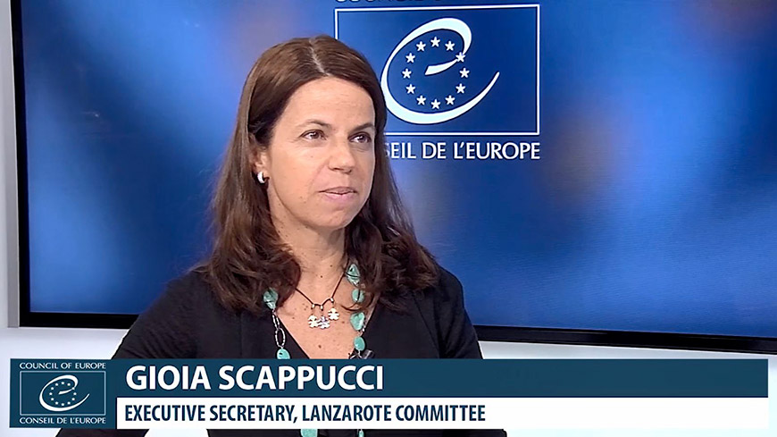 Interview with Gioia Scappucci, Lanzarote Committee Executive Secretary