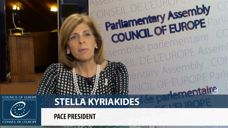 New PACE president Stella Kyriakides sets out her priorities