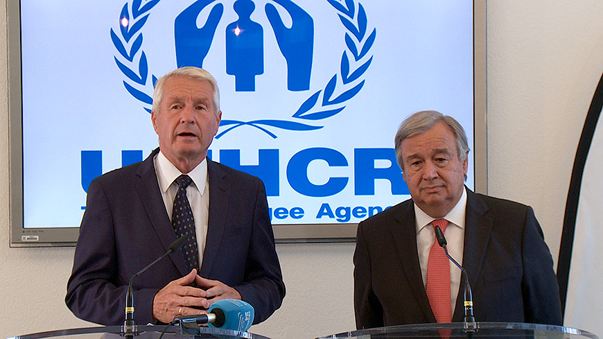 UNHCR and Council of Europe leaders stress need to protect human rights of refugees