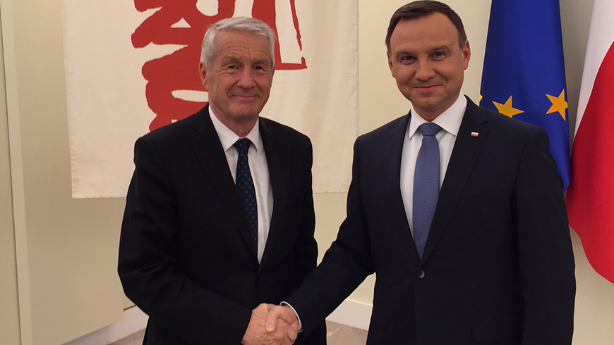 Secretary General on official visit to Poland