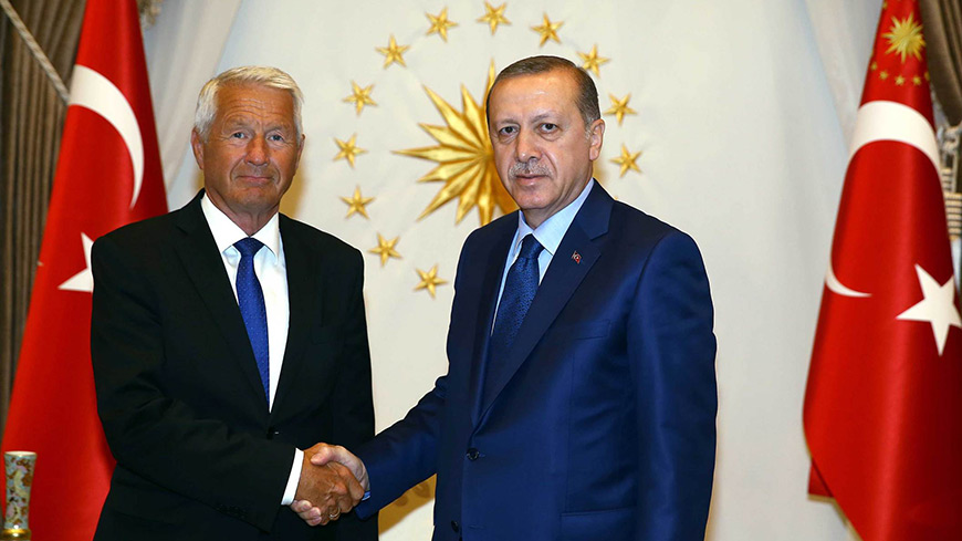 Secretary General Jagland in Ankara