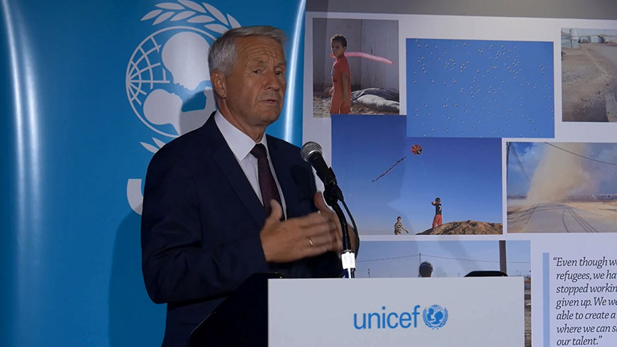 Secretary General, in UN, calls for ensuring basic rights for all migrant and refugee children