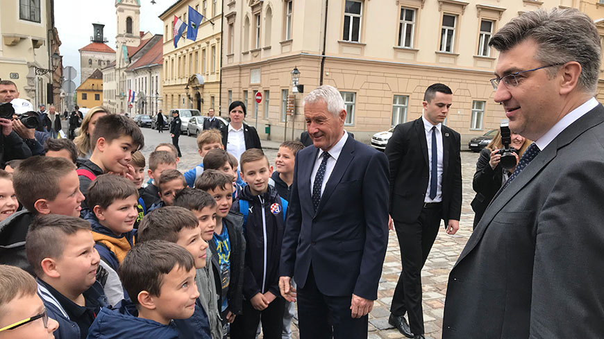 Secretary General Jagland on official visit to Croatia on 17 April