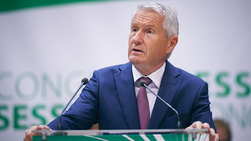 "Thorbjørn Jagland: ""Congress' thematics are in line with the Council of Europe's priorities"""
