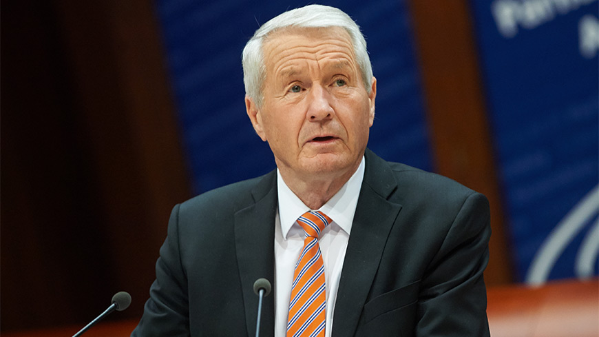 Secretary General Jagland to meet Russian President Putin and Foreign Minister Lavrov in Moscow