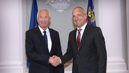 Secretary General Jagland on official visit to Liechtenstein
