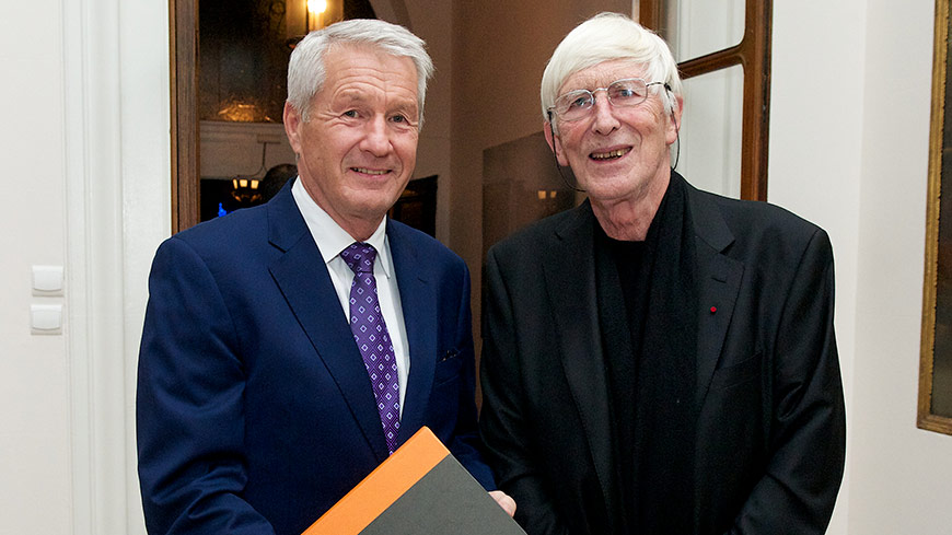 Statement by the Secretary General Thorbjørn Jagland about Tomi Ungerer