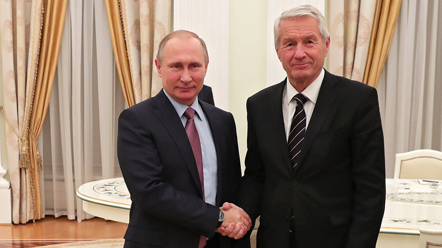 Secretary General Jagland on official visit to Moscow for talks with President Putin, Foreign Minister Lavrov
