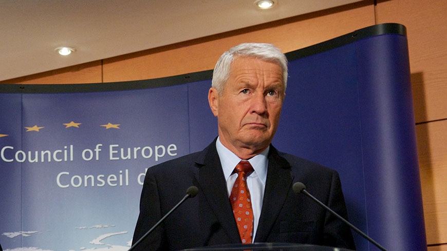 Secretary General Thorbjørn Jagland calls for de-escalation of violence in Turkey
