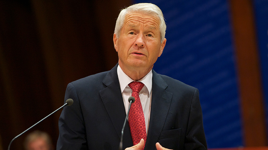 "Russia's new law on the Constitutional Court. Jagland: ""a solution should be possible."""