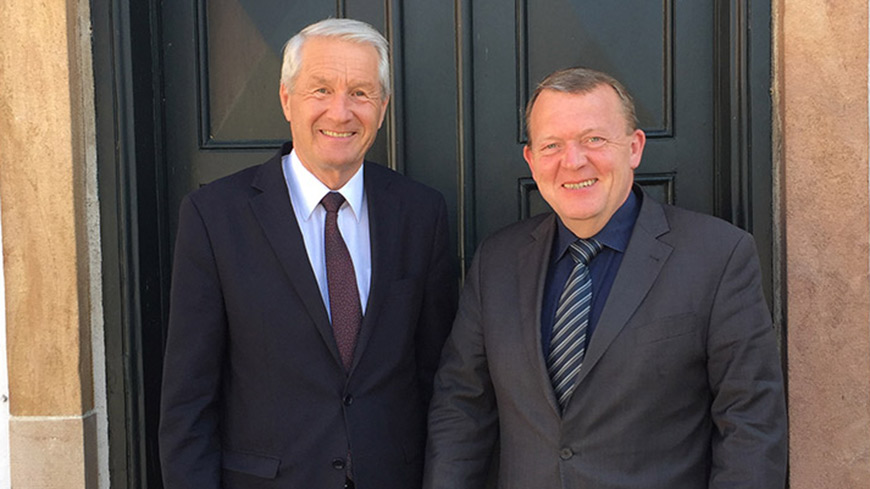 Secretary General Jagland on official visit to Denmark
