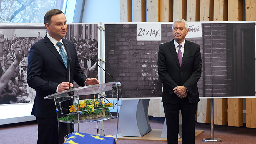 Official visit of the President of Poland Andrzej Duda