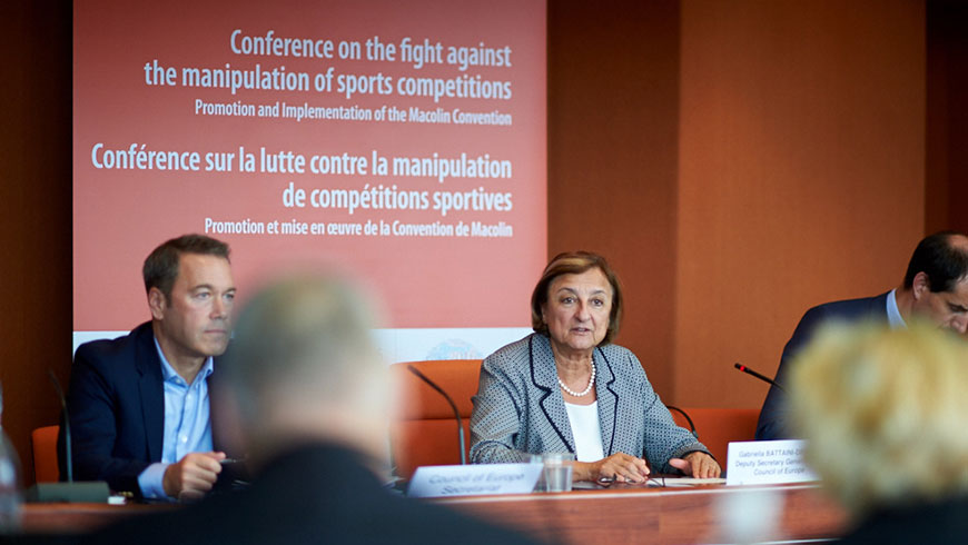 Conference on the Fight against the Manipulation of Sports Competitions