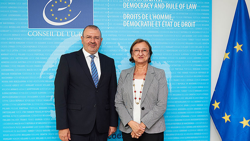 The Secretary General of the Ministry of Justice of Morocco met the Deputy Secretary General