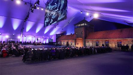 Council of Europe represented at 75th anniversary of the liberation of Auschwitz-Birkenau