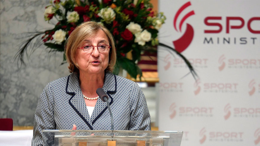 Deputy Secretary General opens Sports' Conference in Vienna