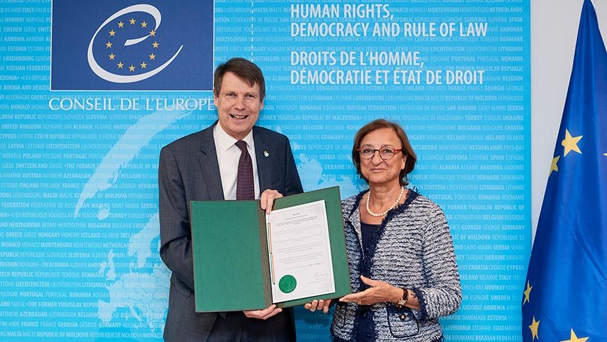 Ireland ratifies treaty to end violence against women