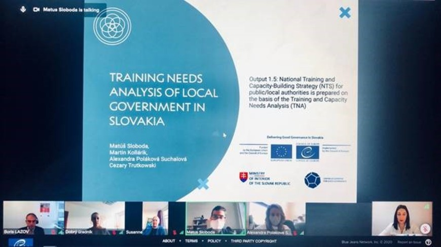 Delivering Good Governance in Slovakia – Programme Board Meeting