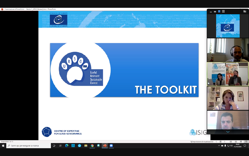 Useful, Relevant, Sustainable, Owned: URSO Toolkit in Cyprus