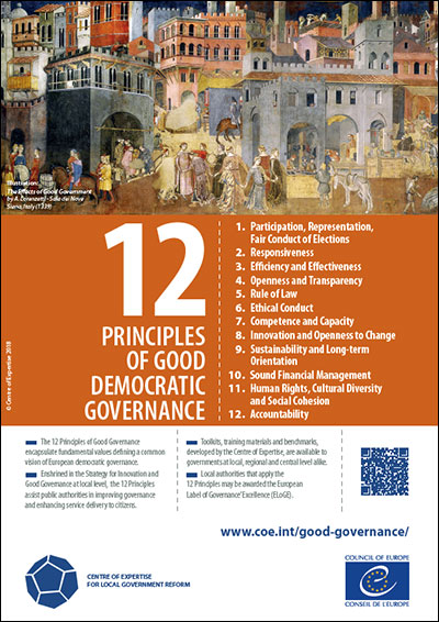 12 Principles of Good Governance and European Label of
