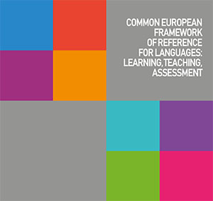 Visual identity of the Common European Framework of Reference for Languages (CEFR)