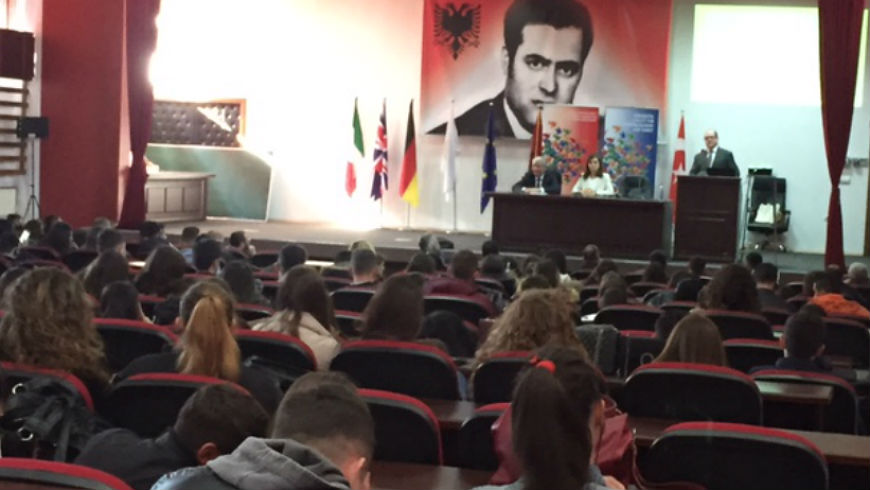 "Lectures on academic integrity at the University of Pristina ""Hasan Prishtina"" and University of Prizren ""Ukshin Hoti"""
