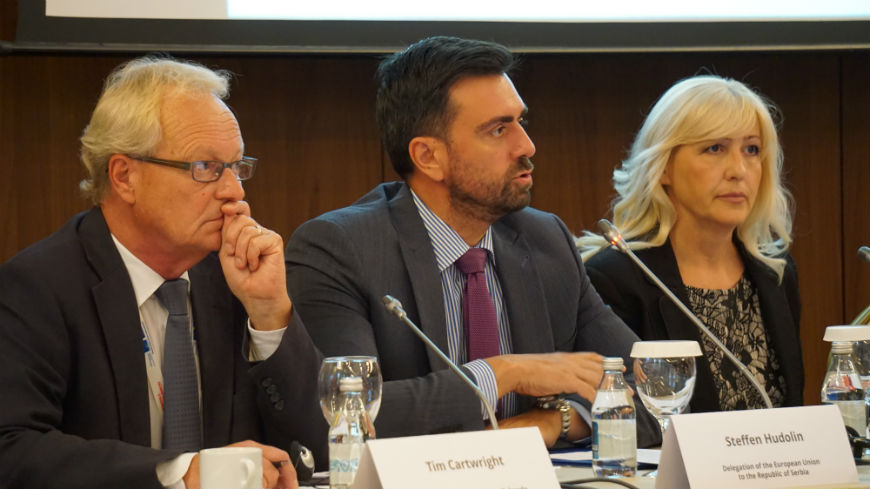 Round-table on integrity in higher education in Serbia