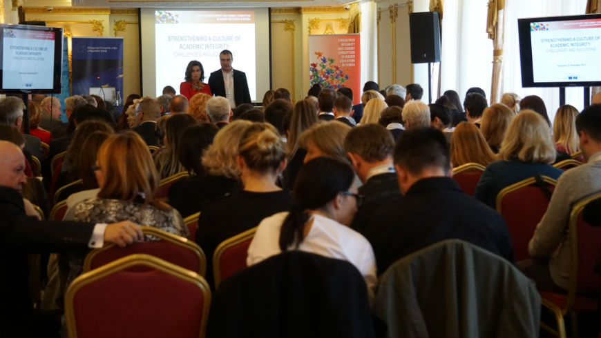 Conference on academic integrity held in Belgrade