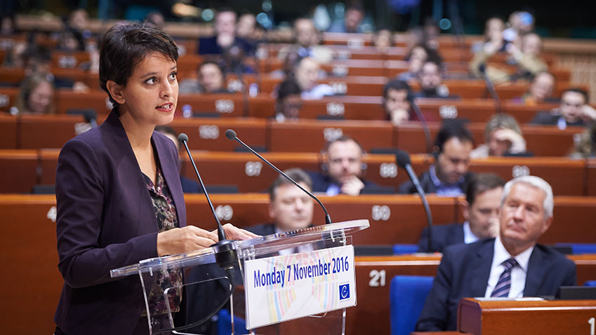 "Najat Vallaud-Belkacem: ""citizenship is something that has to be learned"""