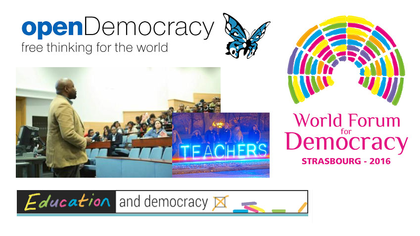 The World Forum for Democracy on openDemocracy