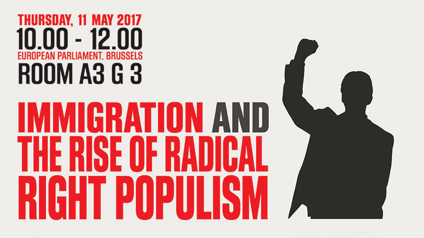 "Participation of the World Forum for Democracy coordinator to an event on ""Immigration and the rise of radical right populism"""