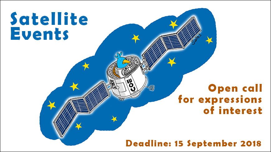 Satellite Events - Open call for expressions of interest