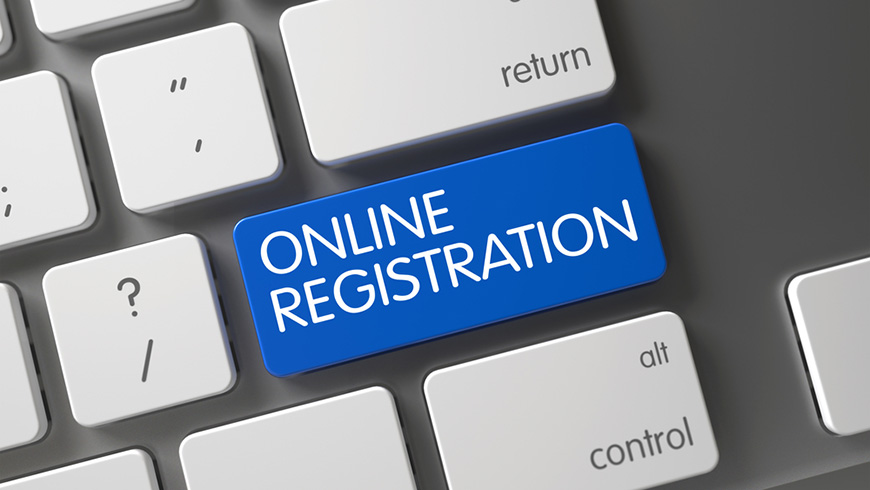 The online registration is now open!