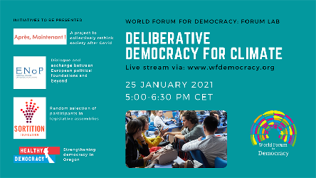 Forum Lab: Deliberative Democracy for Climate