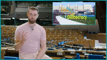 "Watch the teaser of ""Cycling for Democracy"", the new Forum's web series"