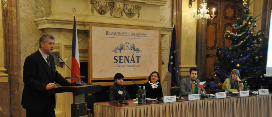 "Conference on ""Gender Dimensions of Corruption"" , Prague, 13 December 2013"