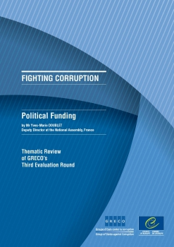 Political Funding (thematic review of GRECO's Third Evaluation Round)