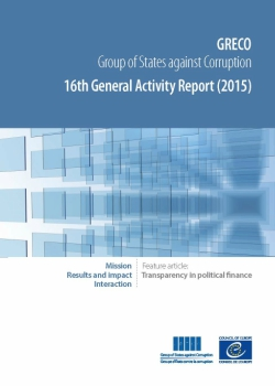 16th General Activity Report (2015)