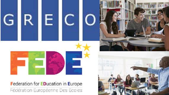 First positive outcomes of GRECO and FEDE's co-operation on education
